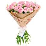 Букет с доставкой из нежных роз Аква