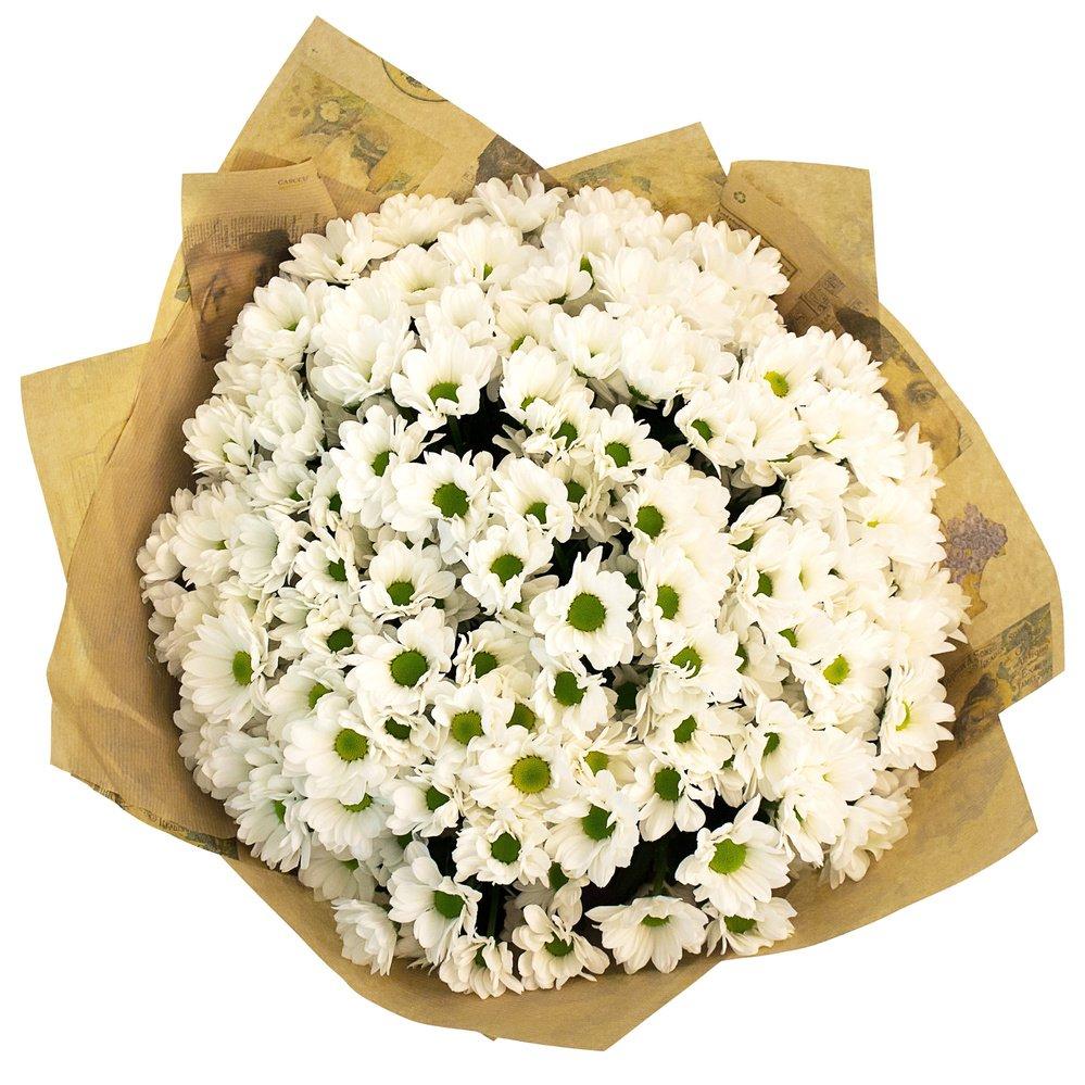 Букет цветов из хризамента