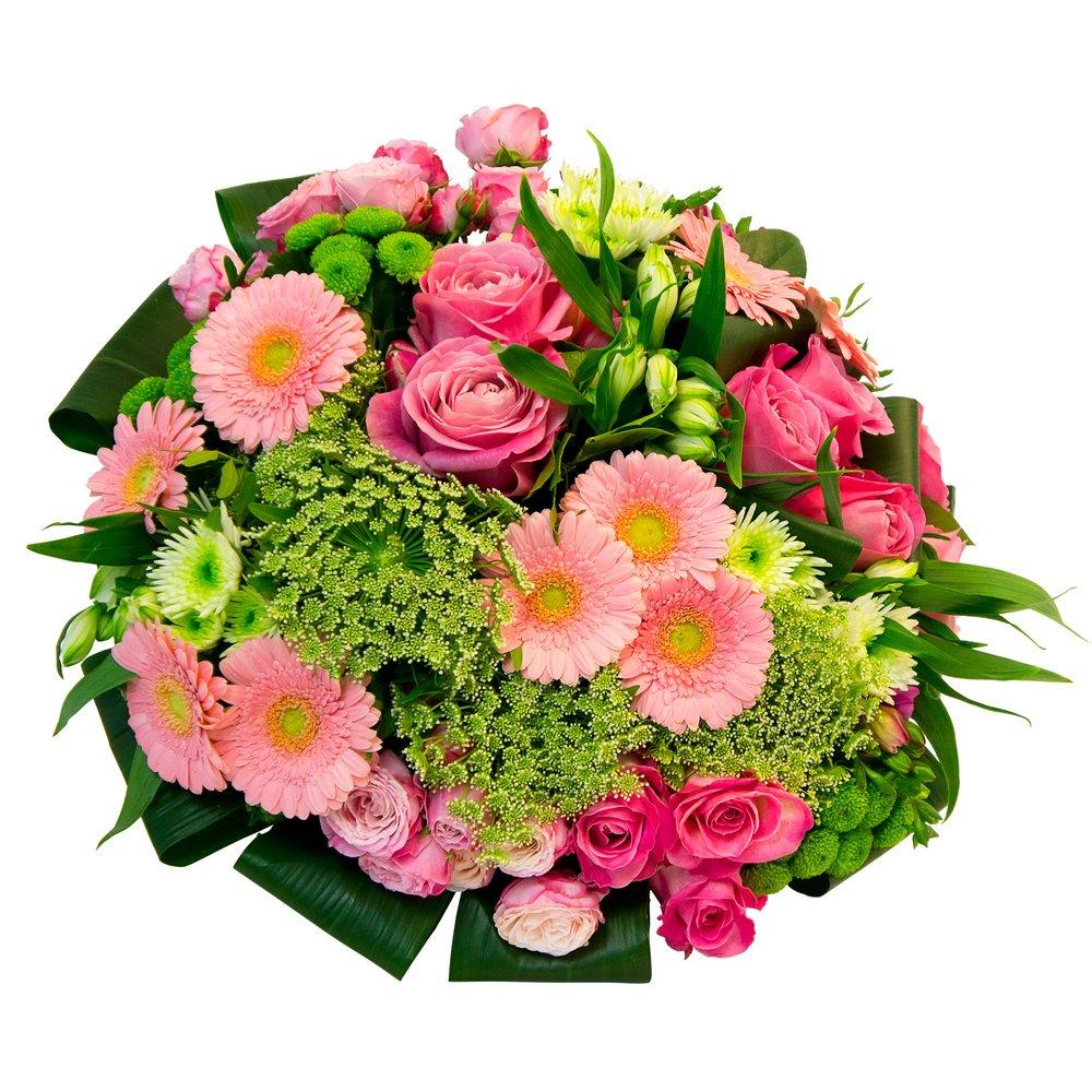 Букет гербера хризантема кустовая роза угол, свадебные букеты с ценой харьков