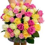 Нежный аромат и нежные оттенки 39-ти прекрасных роз.