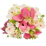 Букет невесты с орхидеями в Санкт-Петербурге