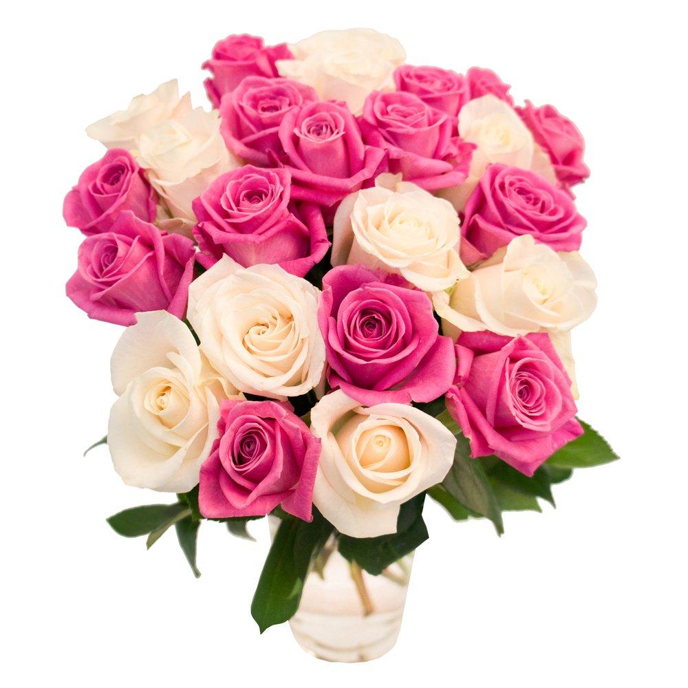 Букеты 25 белых роз йошкар-ола, цветов