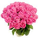 45 розовых роз