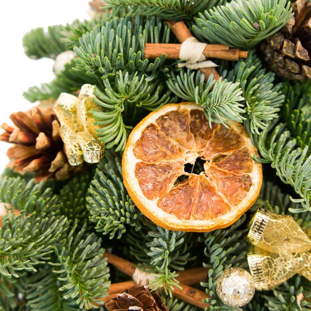 Ёлочка с апельсинами