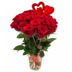 Букет из 25 красных роз в Санкт-Петербурге