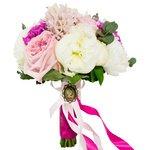 Эксклюзивный свадебный букет невесты с невероятным ароматом в Санкт-Петербурге