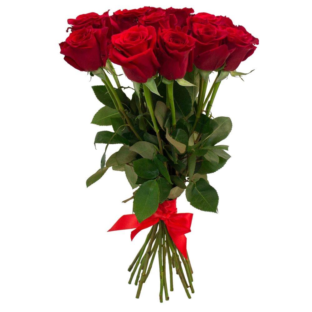 Гостям, 3 5 розы в букете