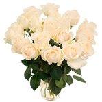Букет из 19 белых роз в Санкт-Петербурге