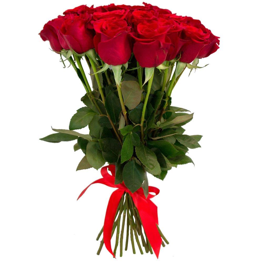 Голландии, букет 25 роз доставка цветов