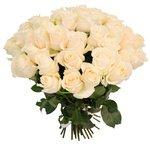 Букет из 51 белой розы в Санкт-Петербурге