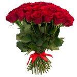 Букет из 75 красных роз в Санкт-Петербурге