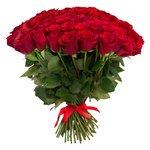 Букет из 101 красной розы в Санкт-Петербурге