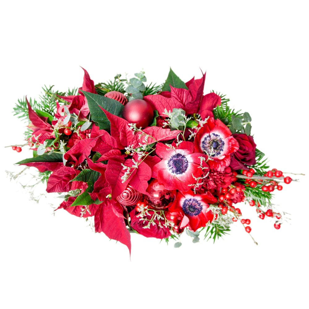 Цветы с рождественской ярмарки