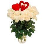 Букет из белых роз в Санкт-Петербурге