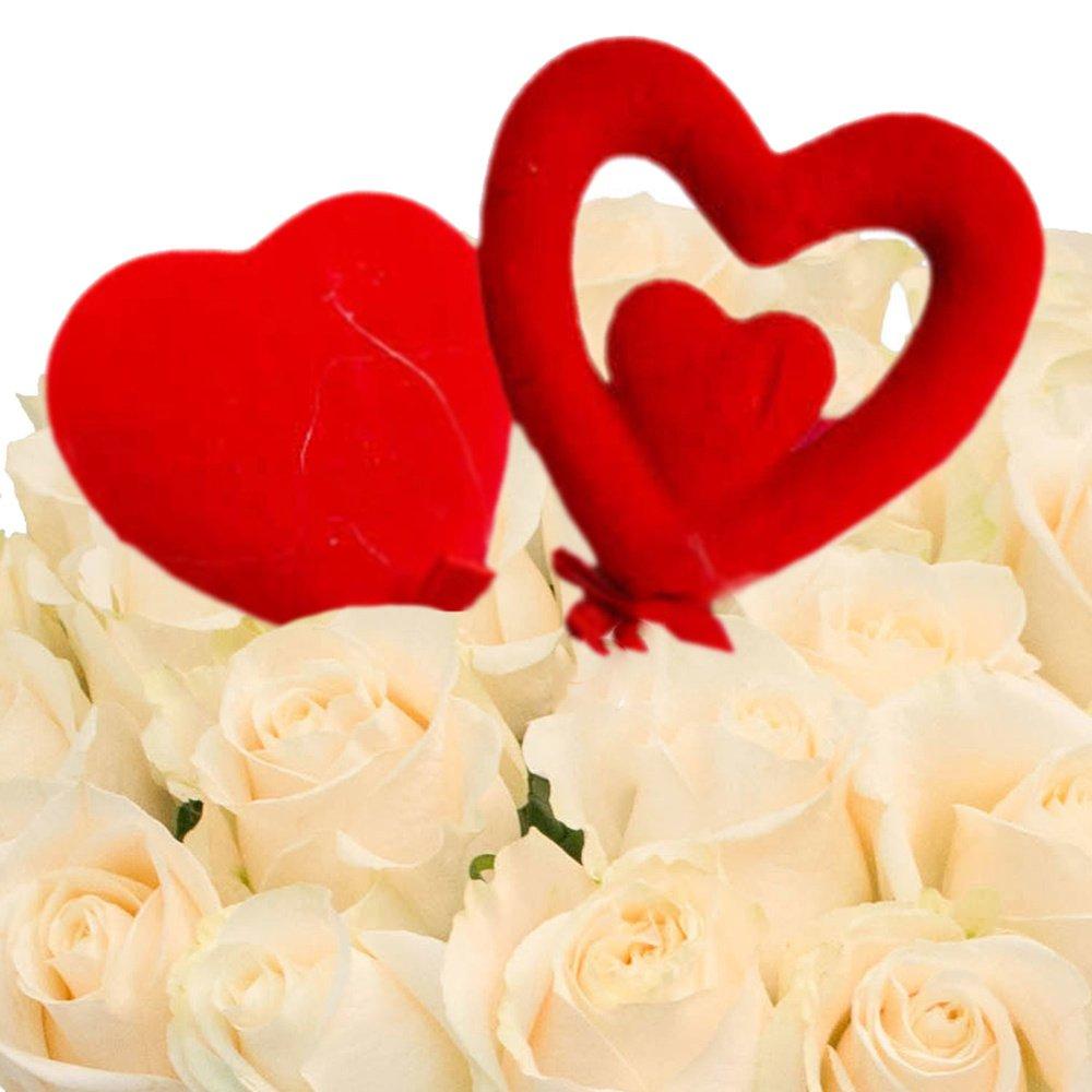 Белые розы для любимой