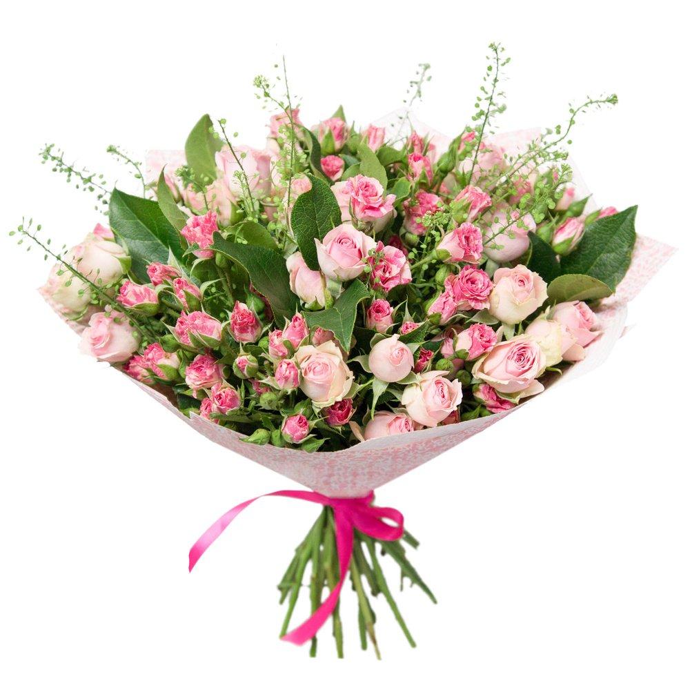 Букет из кустовых роз в Санкт-Петербурге
