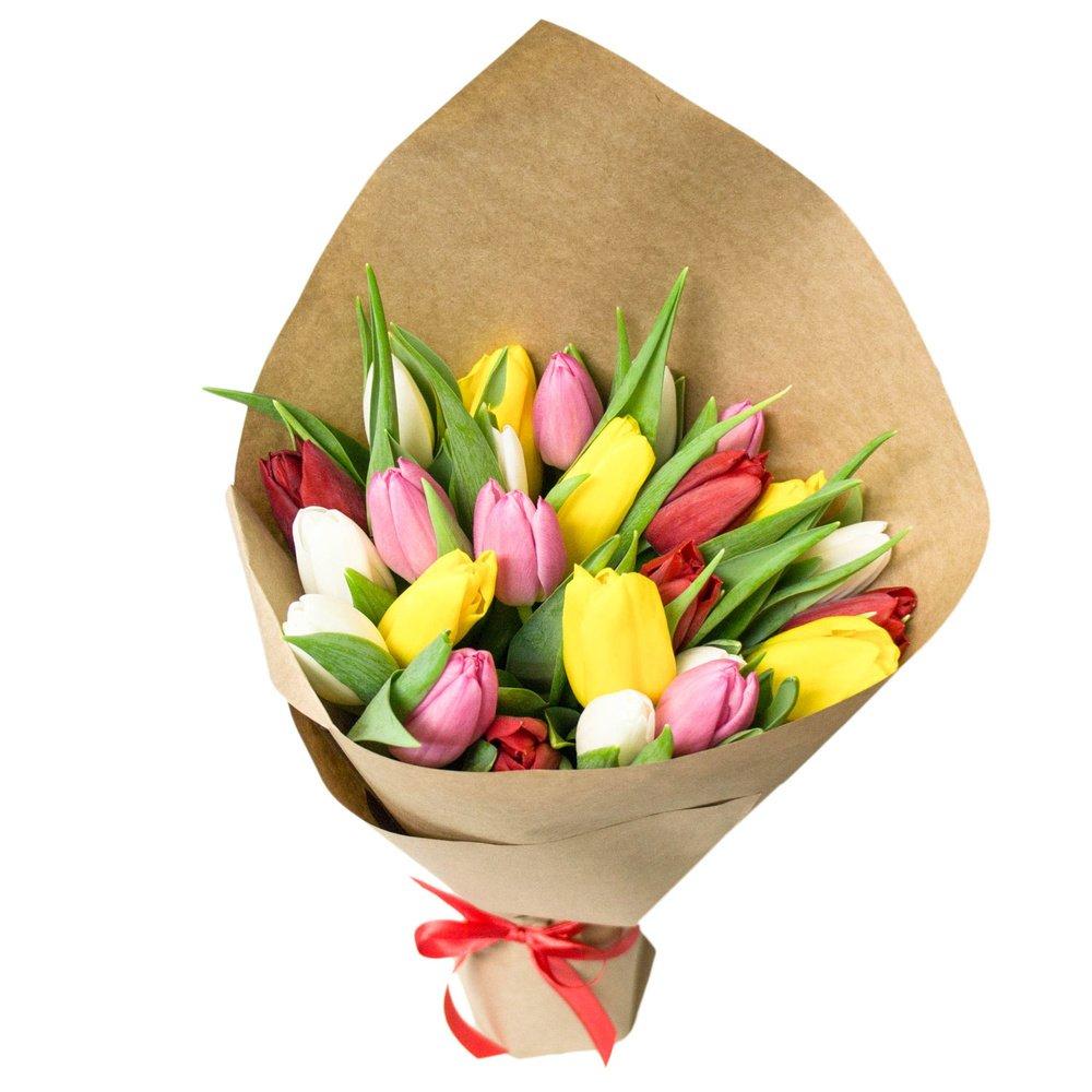 Сколько стоят тюльпаны букет, жалюзи сочетание двух