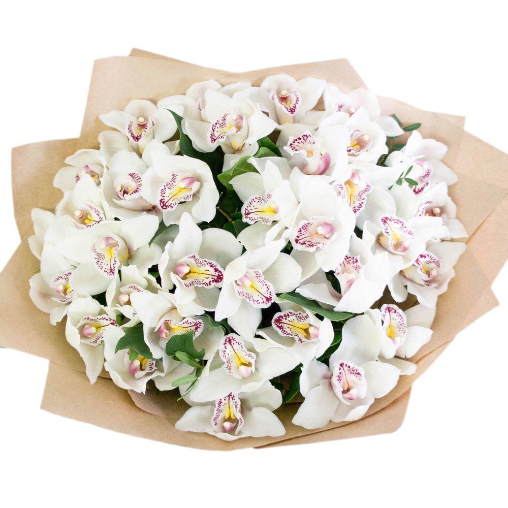 С орхидеями