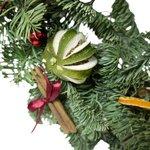 Рождественский венок из еловых веток с доставкой в Санкт-Петербурге