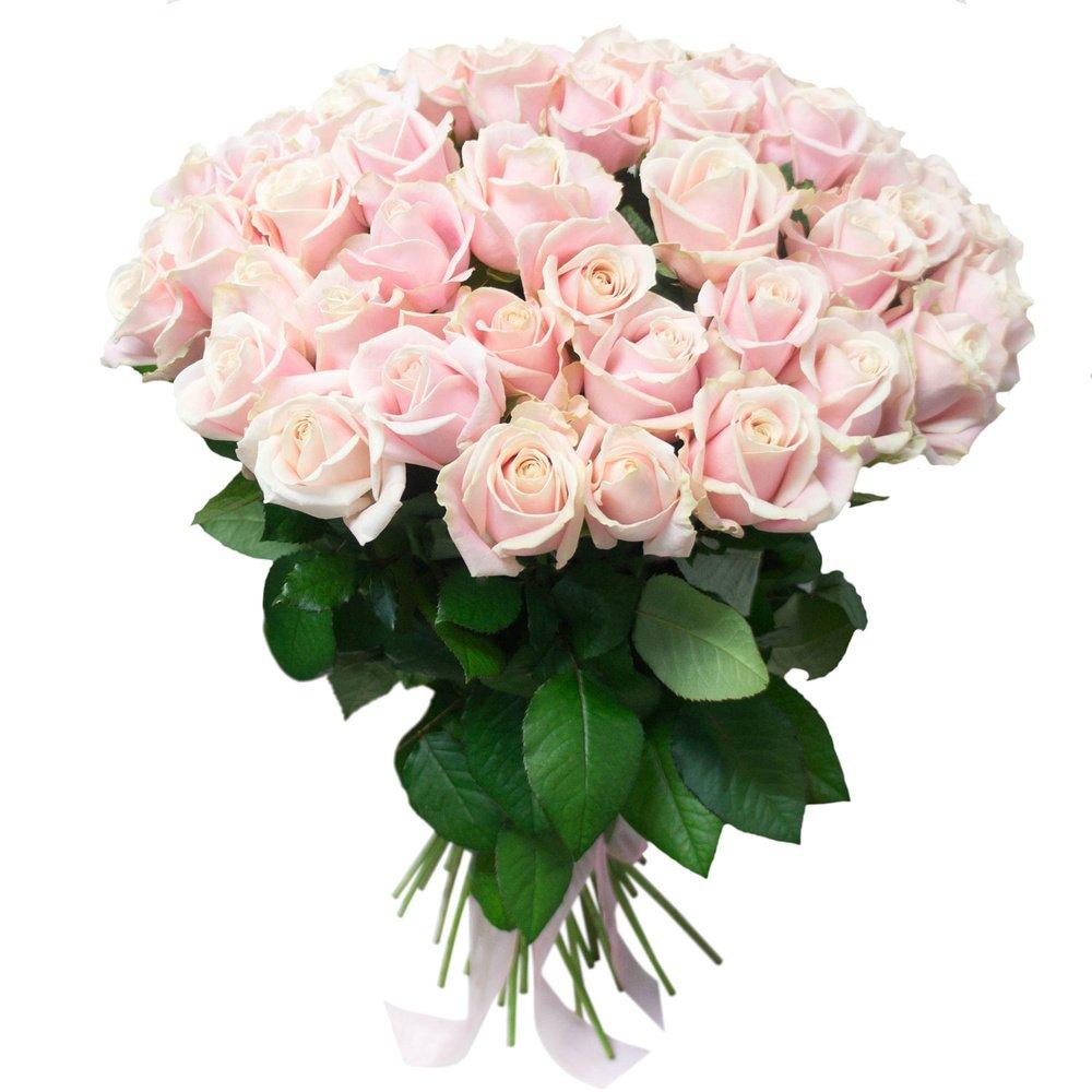 Букет из белых и розовых роз картинки