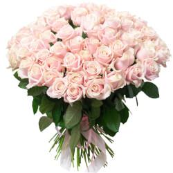 Букет 101 розовая роза в Санкт-Петербурге