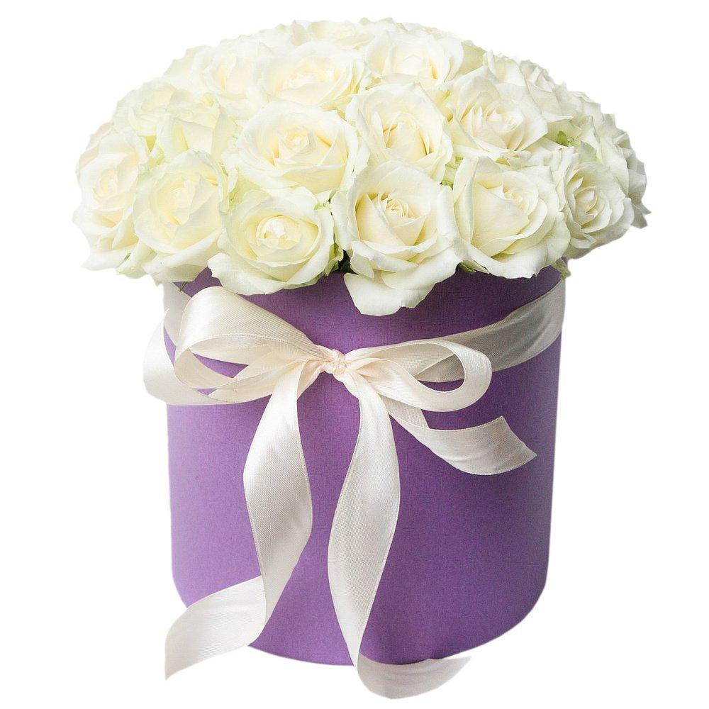 Доставка цветов спб в шляпной коробке