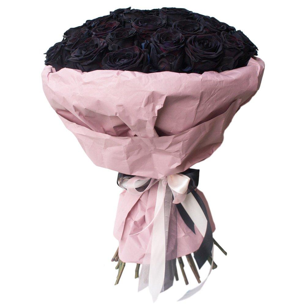 39 чёрных роз