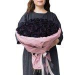 Букет из чёрных роз в Санкт-Петербурге