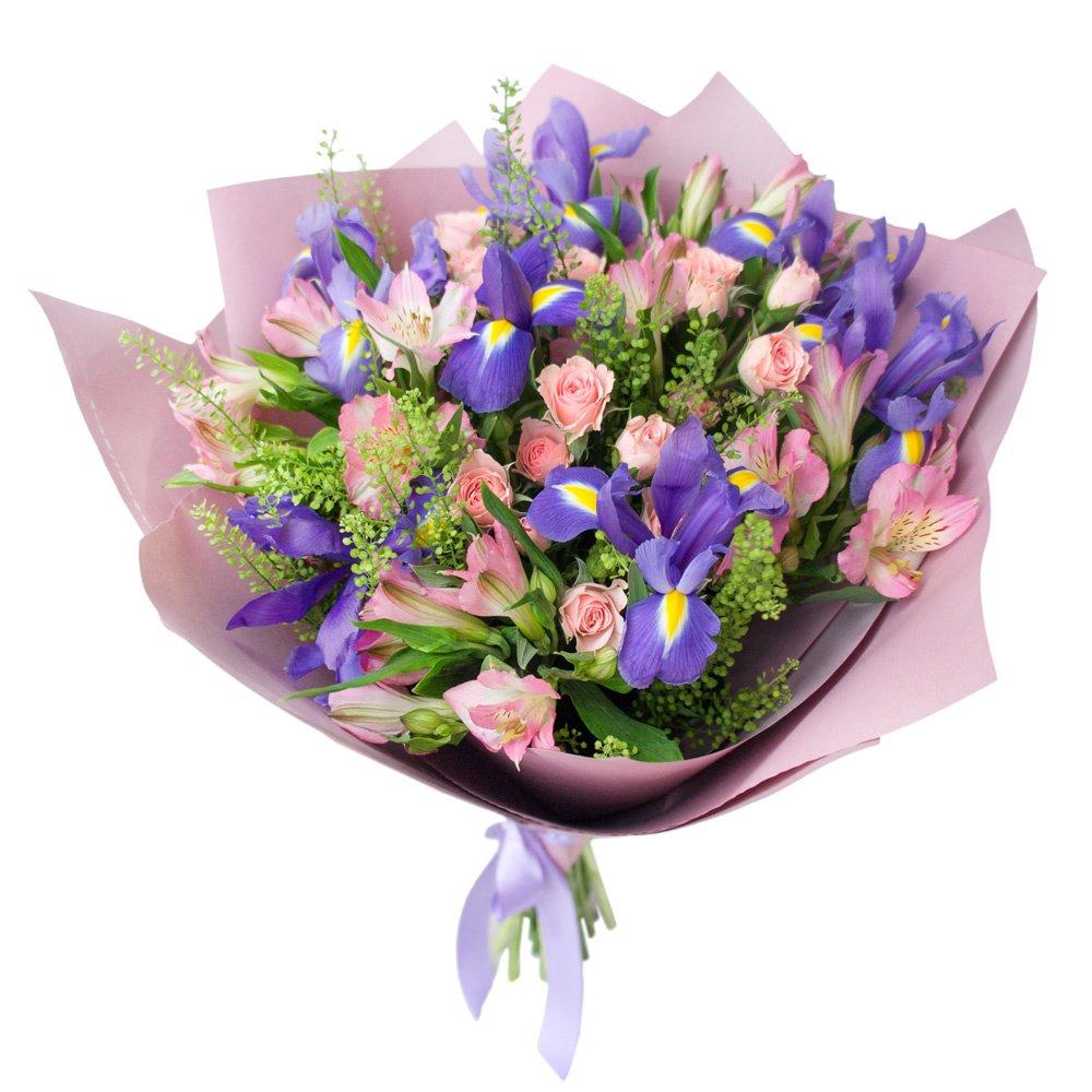 Когда дарят синие цветы