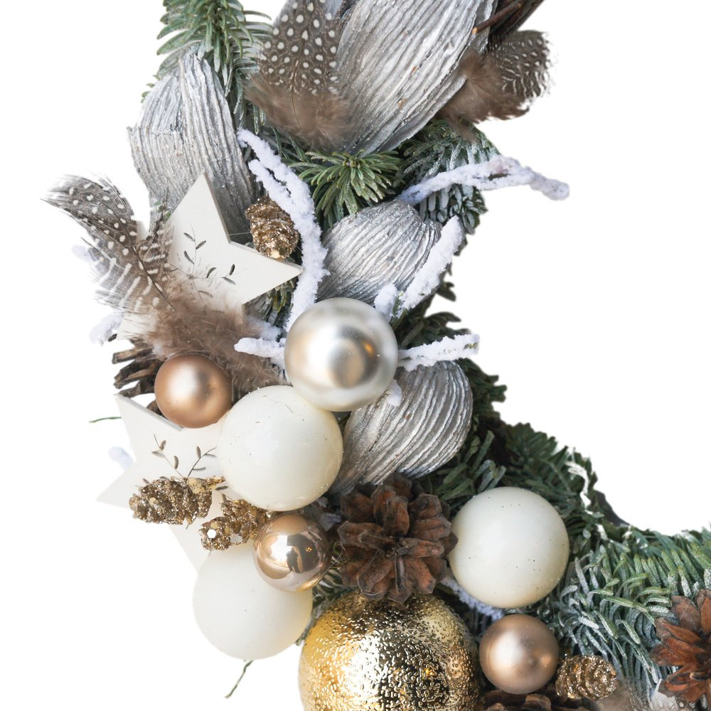 Рождественский венок №12