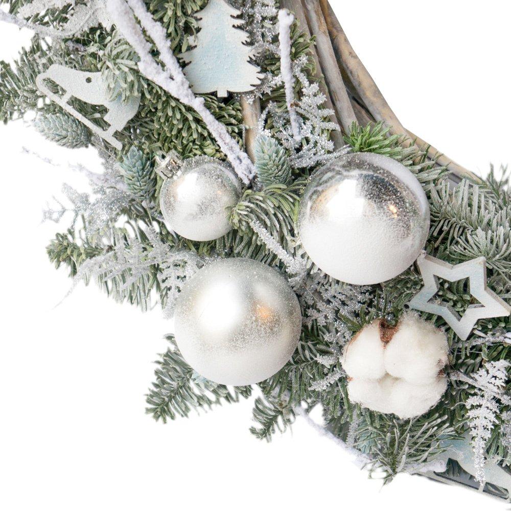 Рождественский венок №14