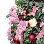Новогодняя ёлочка с рождественским декором в Санкт-Петербурге