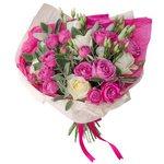Букет ко Дню студента с пионовидной розой в Санкт-Петербурге