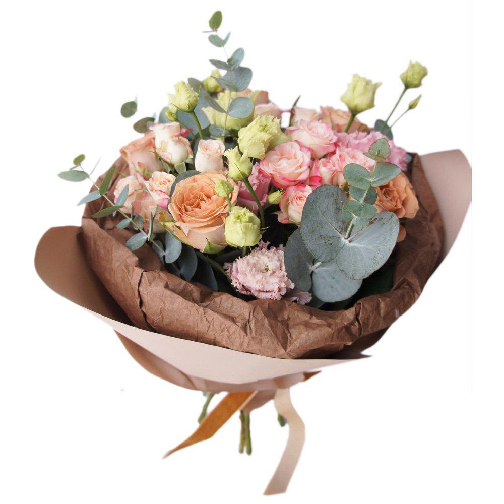 Букет с розами Каппучино в Санкт-Петербурге