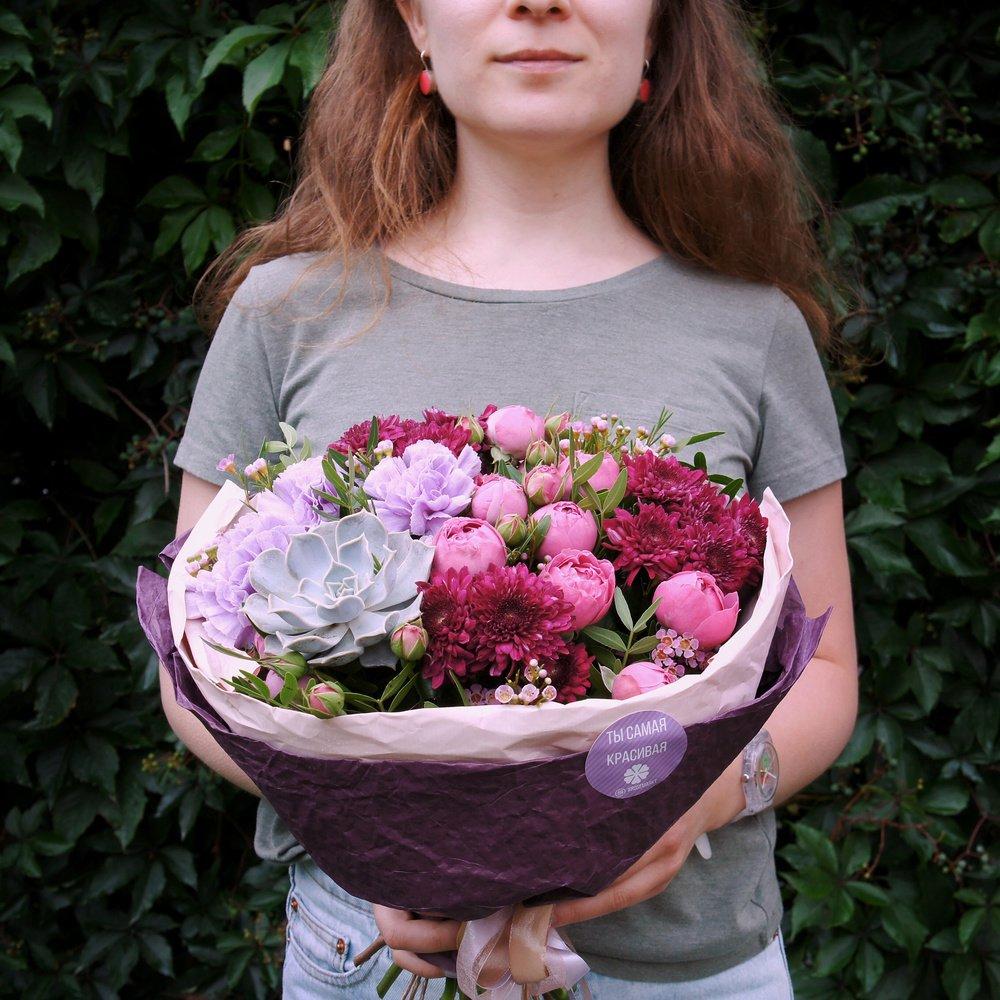 Букет недели от RoseMarkt с доставкой в Санкт-Петербурге
