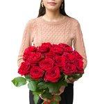 Букет из 19 красных роз в Санкт-Петербурге