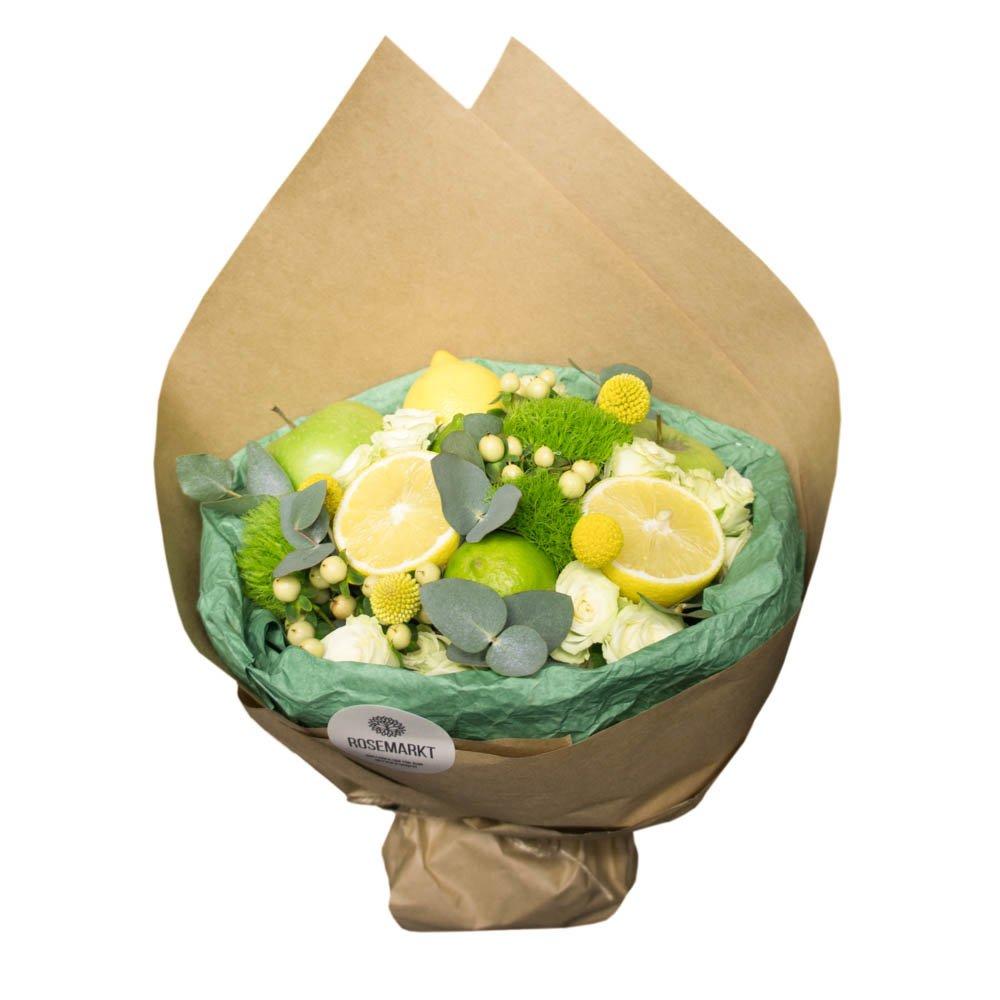 Купить недорогой букет c фруктами в Санкт-Петербурге