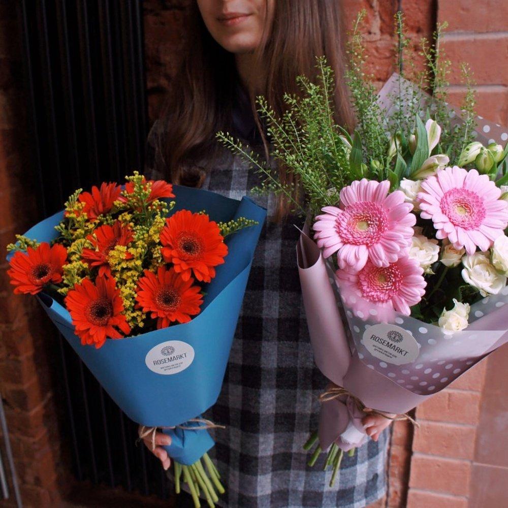 Цветы альстромерия, как упаковать букет на 1 сентября