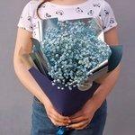 Букет из гипсофилы на вкус флориста по фото из Инстаграма в Санкт-Петербурге