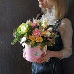 Шляпная Коробка Недели: свежие цветы с доставкой в Санкт-Петербурге