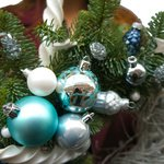 Рождественский венок в Санкт-Петербурге