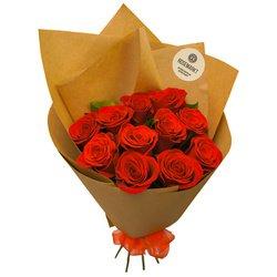 Букет 11 роз недорого с доставкой в Санкт-Петербурге